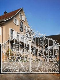 Ворота в коттедж
