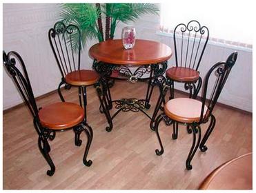 Кованый комплект мебели КМ-4-3