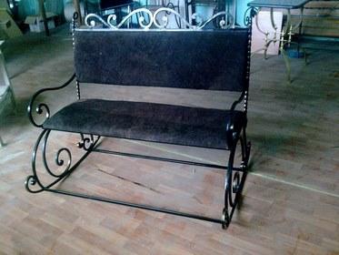 Кованая скамейка КМ-4-4