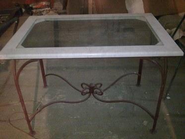 Кованый столик КМ-4-6