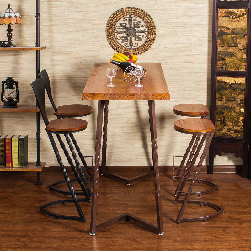 Комлпкт барный стол и стулья